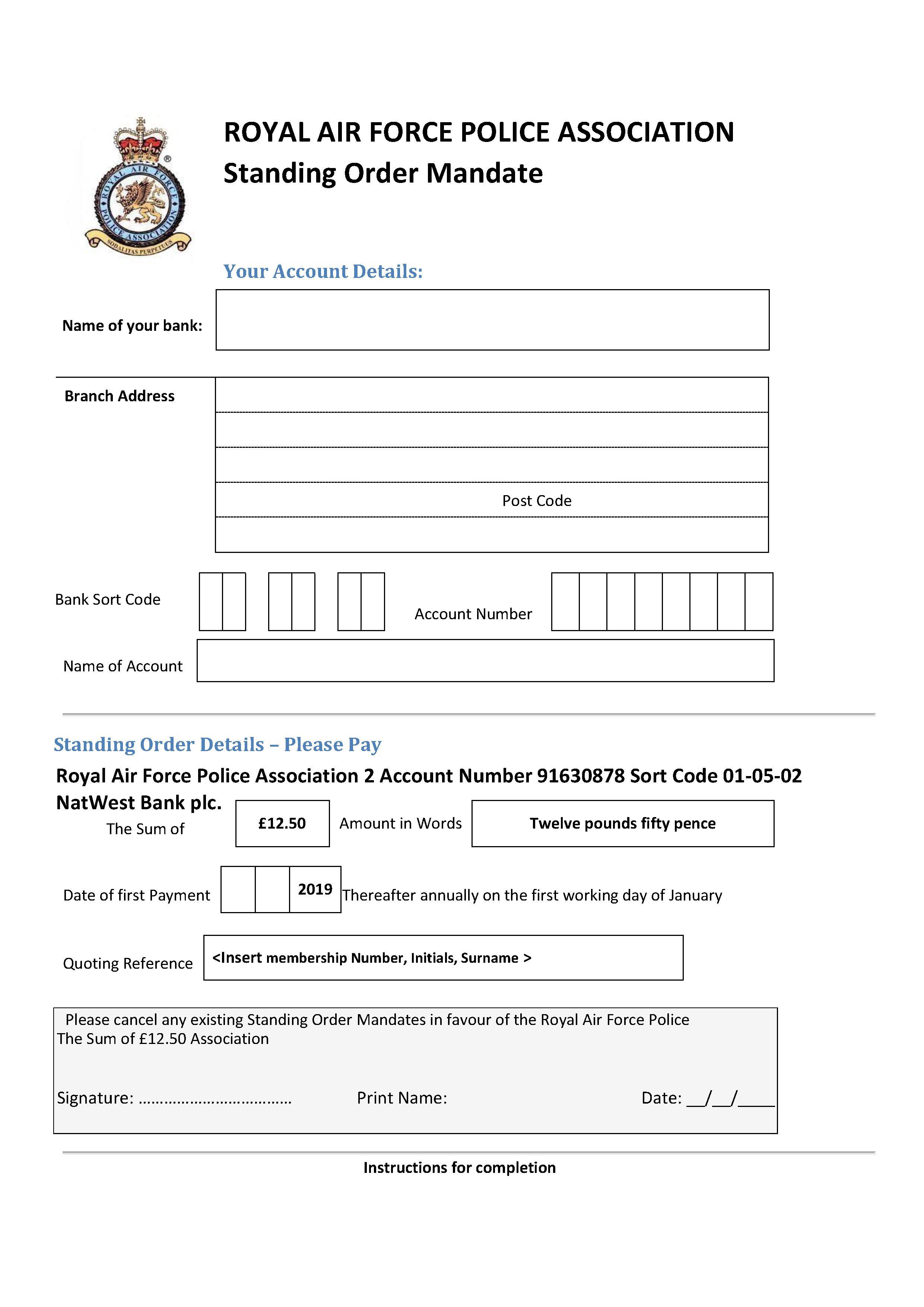 association information  u2013 raf police association